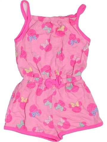 Combinación corta niña DISNEY rosa 18 meses verano #1501612_1