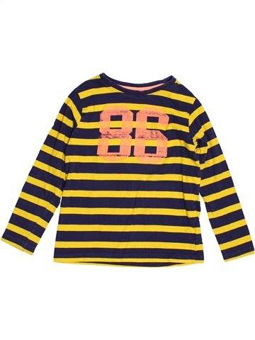Camiseta de manga larga niño DPAM amarillo 5 años invierno #1502225_1