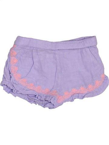 Short - Bermuda fille TAPE À L'OEIL violet 9 mois été #1502306_1