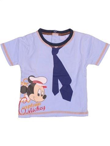 Camiseta de manga corta niño DISNEY violeta 12 meses verano #1502372_1