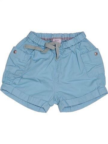Short - Bermuda garçon PETIT BATEAU bleu 3 mois été #1502895_1