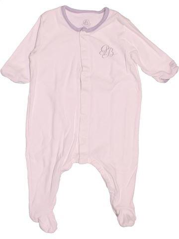 Pijama de 1 pieza niño PETIT BATEAU blanco 3 meses verano #1502913_1