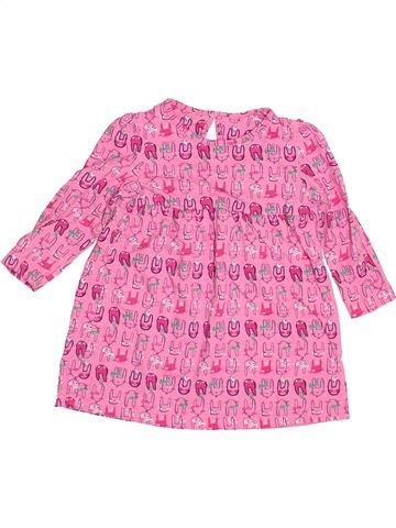 Vestido niña MOTHERCARE rosa 18 meses invierno #1502979_1