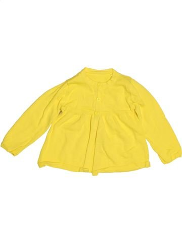 Gilet fille TU jaune 12 mois hiver #1503147_1