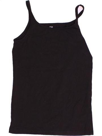 Camiseta sin mangas niña H&M marrón 12 años verano #1503206_1