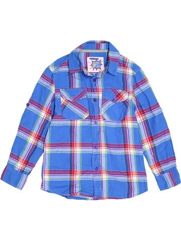 Chemise manches longues garçon TU bleu 8 ans hiver #1503395_1