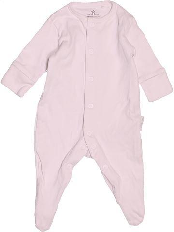 Pyjama 1 pièce unisexe NEXT rose 1 mois été #1503428_1