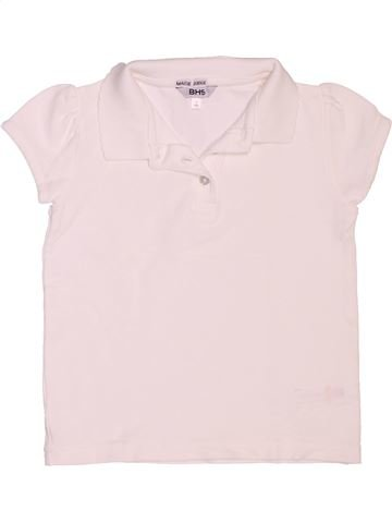 Polo de manga corta niña BHS blanco 5 años verano #1503452_1