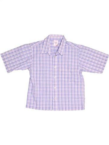 Chemise manches courtes garçon SANS MARQUE violet 7 ans été #1503478_1