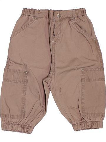 Pantalón niño PETIT BATEAU rosa 6 meses verano #1503815_1