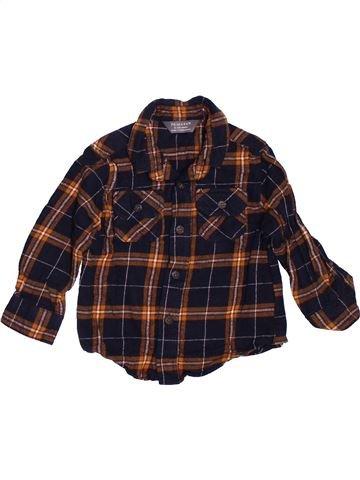Chemise manches longues garçon PRIMARK marron 12 mois hiver #1503851_1