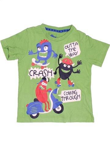 Camiseta de manga corta niño TU verde 3 años verano #1503950_1