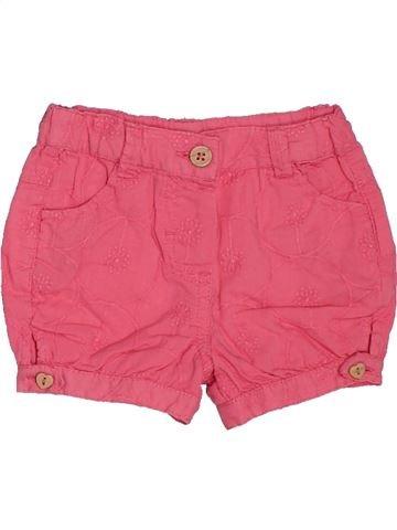 Short-Bermudas niña TAPE À L'OEIL rosa 6 meses verano #1504031_1