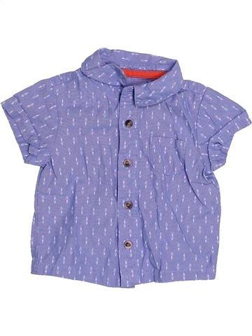 Chemise manches courtes garçon MOTHERCARE bleu 6 mois été #1504825_1