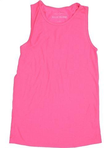 T-shirt sans manches fille RIVER ISLAND rose 12 ans été #1504891_1