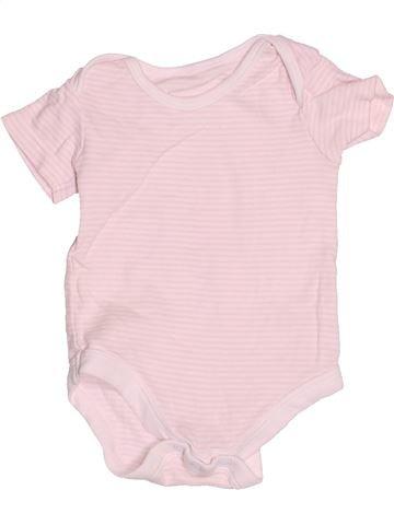 T-shirt manches courtes fille TU rose 6 mois été #1504923_1