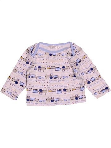 Camiseta de manga larga niño M&CO blanco 6 meses invierno #1505160_1