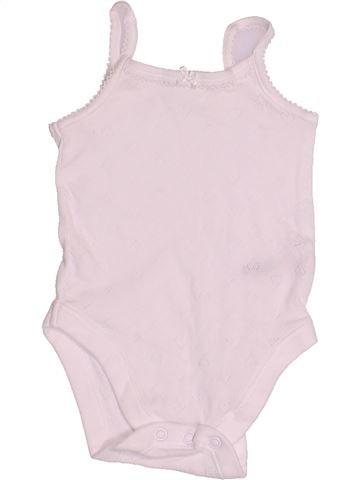 T-shirt sans manches fille NUTMEG blanc 3 mois été #1505222_1