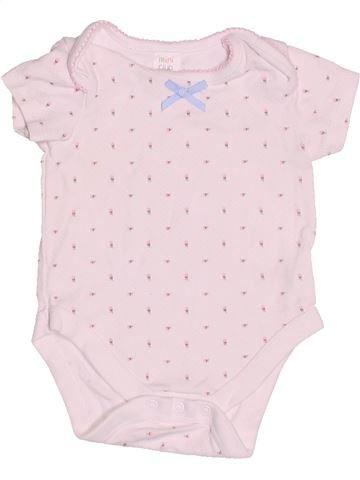 T-shirt manches courtes fille MINI CLUB rose 3 mois été #1505225_1