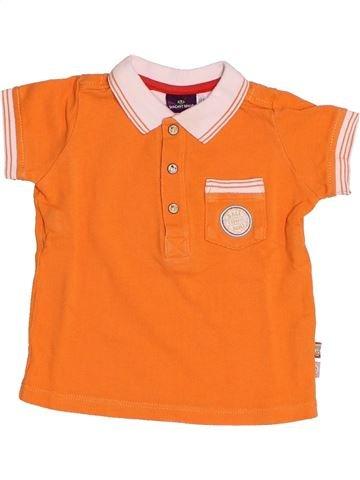 Polo de manga corta niño SERGENT MAJOR naranja 9 meses verano #1505402_1