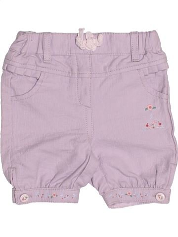 Short-Bermudas niña SERGENT MAJOR rosa 3 meses verano #1505687_1