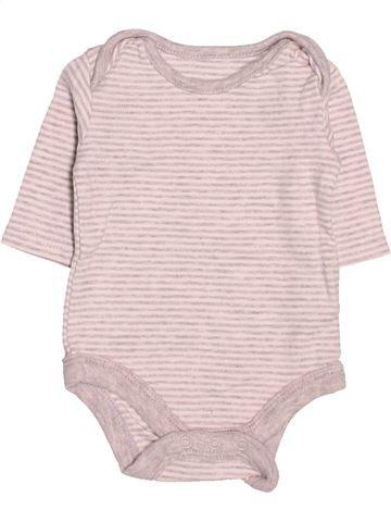 T-shirt manches longues garçon TU violet naissance hiver #1506215_1
