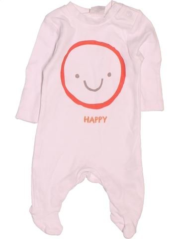Pijama de 1 pieza niño F&F rosa prematuro verano #1506377_1