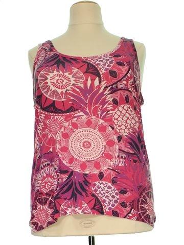 Camiseta sin mangas mujer GEORGE 50 (XXL - T4) verano #1506494_1