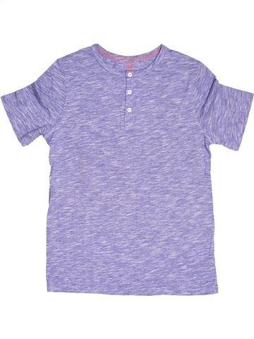 T-shirt manches courtes garçon H&M violet 12 ans été #1506691_1