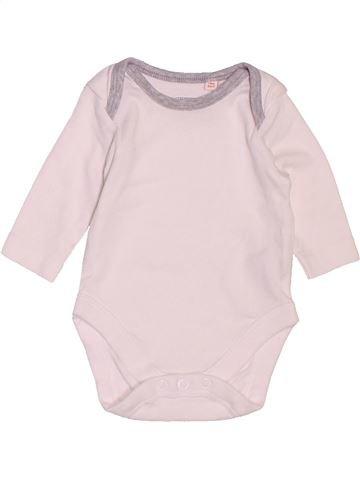T-shirt manches longues unisexe BLUEZOO blanc naissance hiver #1506826_1