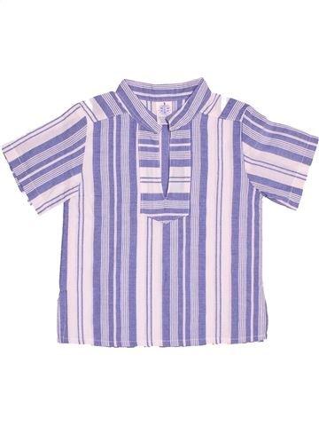 Chemise manches courtes garçon GRIGOROPOULOS gris 3 ans été #1506931_1