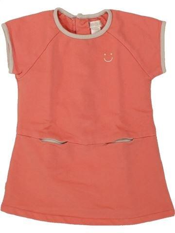 Vestido niña OKAIDI rosa 3 meses verano #1507345_1