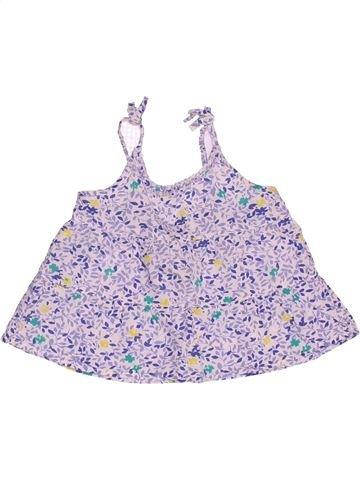 Blouse manches courtes fille LISA ROSE violet 2 ans été #1507507_1