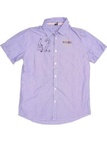 Chemise manches courtes garçon ZARA gris 14 ans été #1507790_1