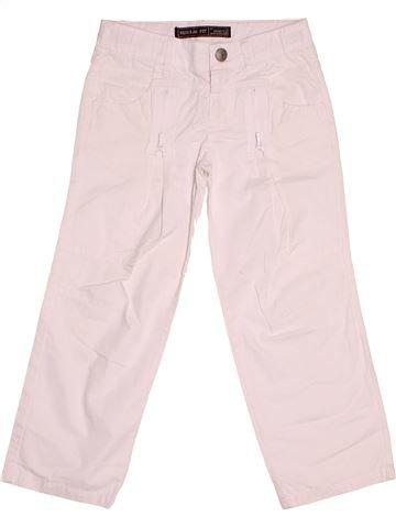 Pantalon fille IKKS blanc 4 ans été #1507945_1