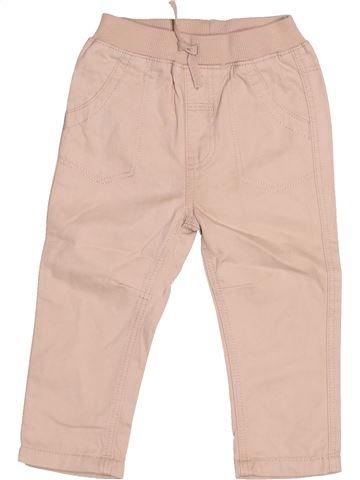 Pantalon fille GEORGE rose 12 mois été #1507974_1