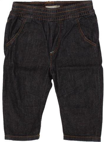 Pantalon garçon CATIMINI bleu foncé 6 mois été #1508029_1