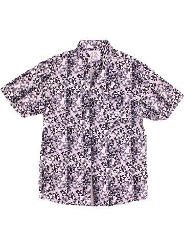 Chemise manches courtes garçon NEXT violet 11 ans été #1508071_1