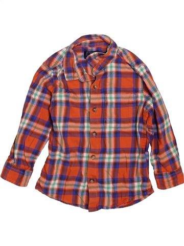 Chemise manches longues garçon NEXT marron 2 ans hiver #1508359_1