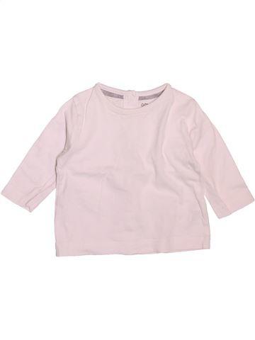 T-shirt manches longues garçon KIABI rose 3 mois hiver #1508634_1