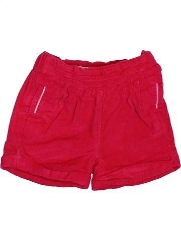 Short - Bermuda fille OKAIDI rouge 3 mois hiver #1508758_1