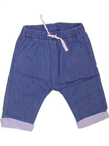 Pantalon garçon TAPE À L'OEIL bleu 6 mois hiver #1508791_1