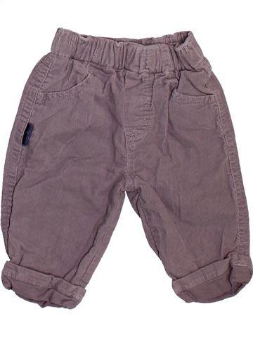 Pantalón niño SUCRE D'ORGE violeta 3 meses invierno #1508802_1