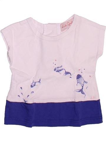 Camiseta de manga corta niña LILI GAUFRETTE rosa 3 meses verano #1508908_1