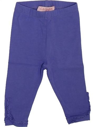 Legging fille LILI GAUFRETTE violet 3 mois hiver #1508910_1