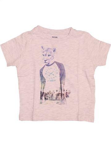 T-shirt manches courtes garçon KIABI blanc 3 ans été #1509307_1