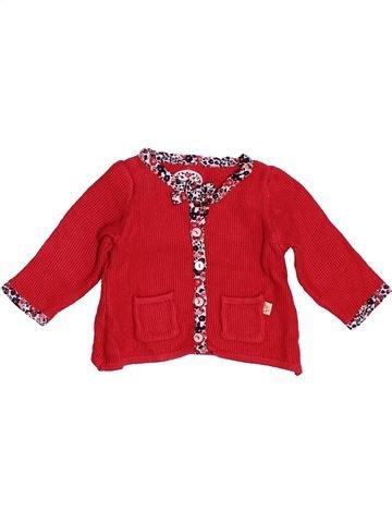Chaleco niña SERGENT MAJOR rojo 3 meses invierno #1509488_1