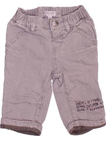 Pantalón niño ALPHABET violeta 3 meses invierno #1509671_1