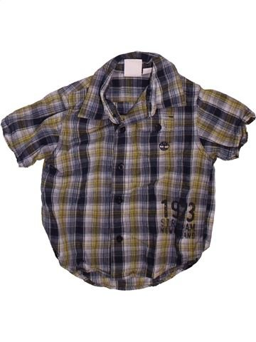Chemise manches courtes garçon TIMBERLAND gris 2 ans été #1509706_1