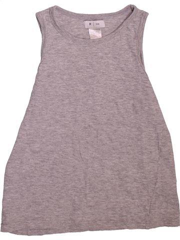 Top - Camiseta de tirantes niño LA REDOUTE CRÉATION gris 10 años verano #1509741_1